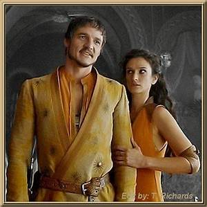 Oberyn Martell (Pedro Pascal) and Ellaria Sand (Indira ...