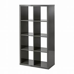 Meuble 6 Cases Ikea : kallax tag re brillant gris ikea ~ Dailycaller-alerts.com Idées de Décoration