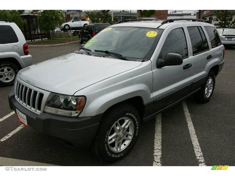 silver jeep grand cherokee 2004 2004 bright silver metallic jeep grand cherokee laredo 4x4
