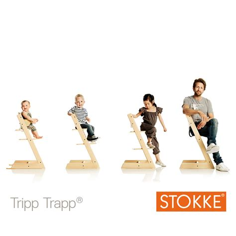 siege tripp trapp chaise haute bébé évolutive tripp trapp gris tempête de