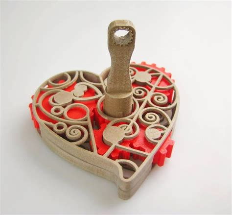 design for additive manufacturing mother s day gift idea 3d print this amazing geared heart