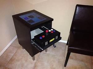 Meuble Malm Ikea : diy transformer un meuble ikea en borne d 39 arcade semageek ~ Melissatoandfro.com Idées de Décoration