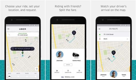 uber app for android 1000 ideas about taxi uber on processeur