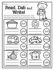 homework ideas for kindergarten