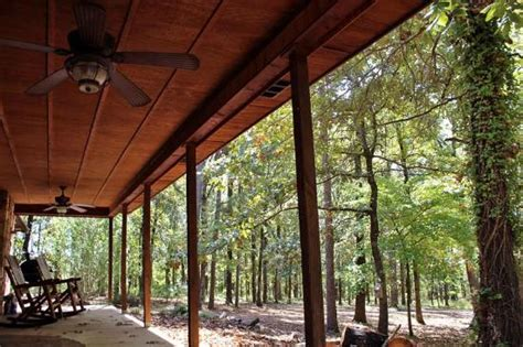 beavers bend log cabins seclusion located on 20 acres picture of