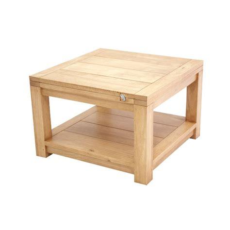 table basse bois hevea ezooq