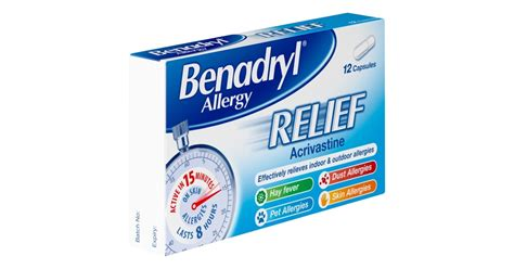 In cases of severe if all the results of is coffee a natural laxative are not working with me, what should i do? Benadryl Allergy Relief Capsules For Symptoms Of Hay Fever & Other Allergies.