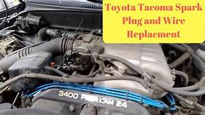 1995-2004 Toyota Tacoma Spark Plug And Wire Replacement  P0304 Code Repair