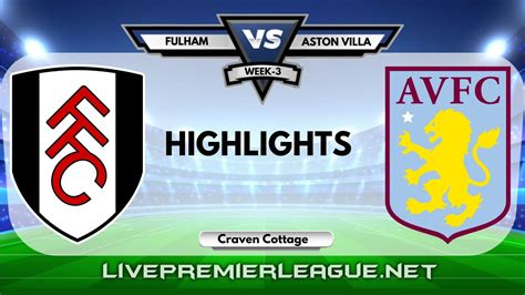 Fulham 0-3 Aston Villa Highlights | Week 3 EPL 2020