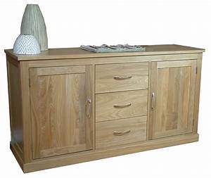 Mobel Oak Large Sideboard Living Room Furniture
