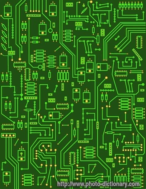 Electronic Circuit Photo Picture Definition
