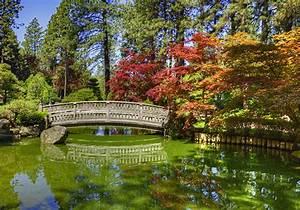 Pictures, Washington, Usa, Japanese, Garden, Spokane, Hdr, Bridge, Nature