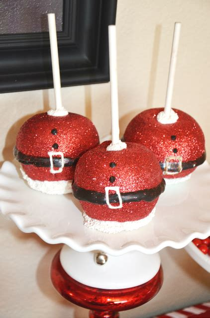 cult of mac christmas ideas sparkly caramel apples at a see more ideas at catchmyparty