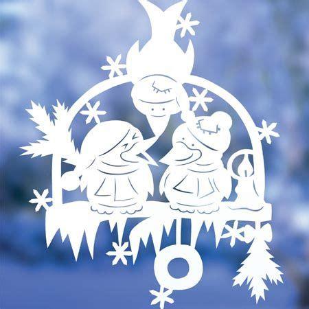 Fensterdeko Weihnachten Scherenschnitt by Bastelideen Fensterbilder Zu Weihnachten