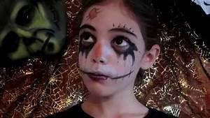 Maquillage Halloween Garcon : maquillage halloween pour enfants rapide en 5 min ~ Melissatoandfro.com Idées de Décoration