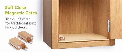 Soft Close Catch Hinges Furniture Butt Magnetic
