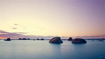 Calm Desktop Wallpapers Backgrounds Calming Rocks Water