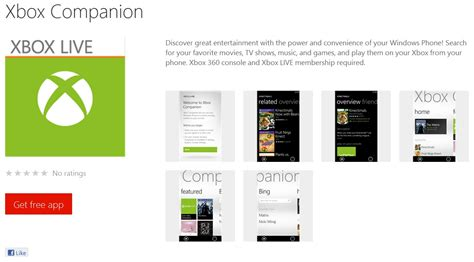 xbox companion app for nokia lumia windows phone