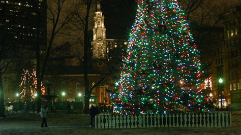 boston gets lit up christmas tree lighting in the boston