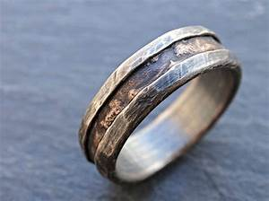 2018 popular wood grain men39s wedding bands for Wood grain wedding rings