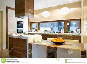 Moderne Küche Mit Insel : moderne k che mit insel stockfoto bild von luxus koch 49901300 ~ Orissabook.com Haus und Dekorationen