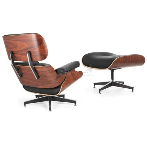 chaise imitation eames lounge chair ottoman eames replica deluxe black