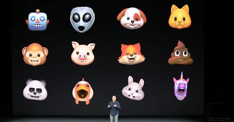 animated emoji for iphone apple announces animoji animated emoji for iphone x the