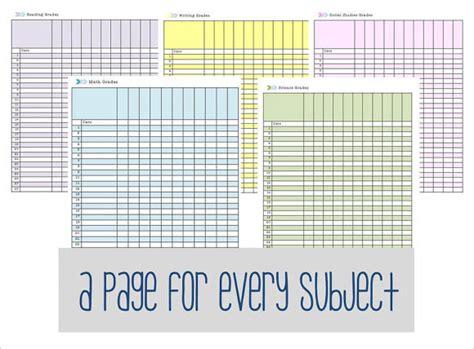 8+ Sample Gradebook Templates  Sample Templates