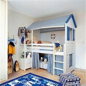 Chambre D Enfant Ikea : le lit mezzanine ou le lit superspos quelle variante choisir ~ Teatrodelosmanantiales.com Idées de Décoration