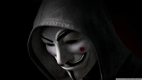 Anonymous Hoody Ultra Hd Desktop Background Wallpaper For