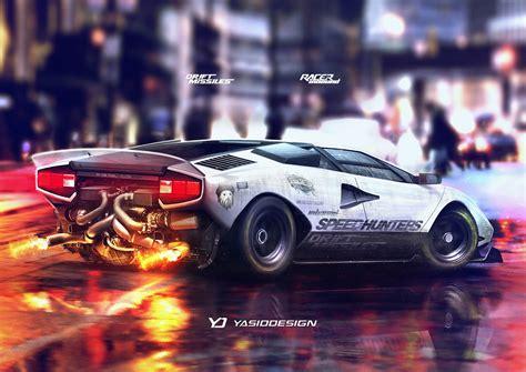 yasiddesign car render artwork tuning lamborghini