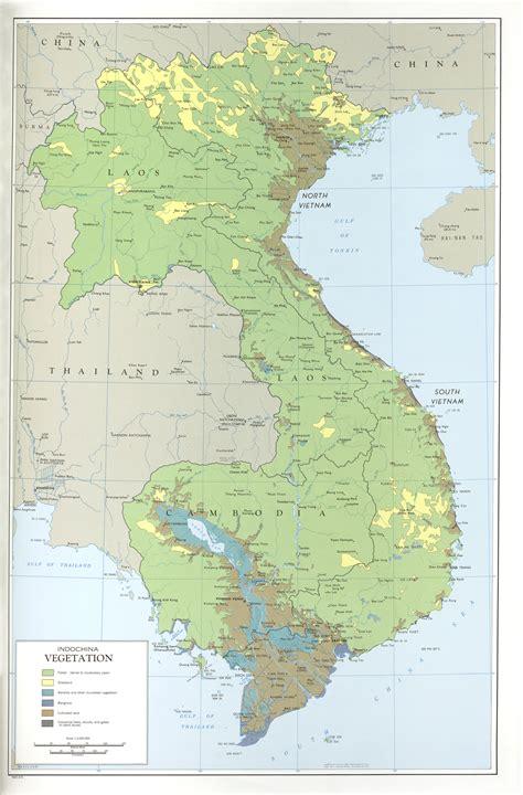 File:Indochina Vegetation Map 1970.jpg - The Work of God's ...