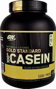 Optimum Nutrition Gold Standard Natural 100  Casein French Vanilla -- 4 Lbs