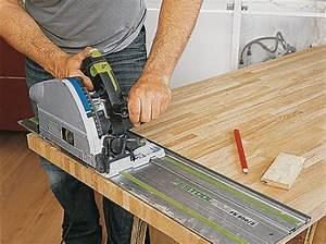 Couper Plan De Travail : decoupe plan de travail scie sauteuse ~ Dallasstarsshop.com Idées de Décoration
