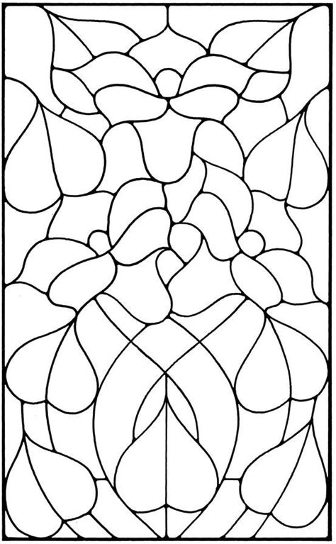 Floral Stained Glass Pattern Book 2076 best doodle templates images on stained