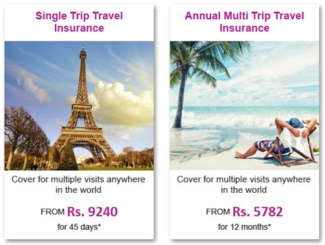 Annual multi trip international travel insurance plans are ideal for businessmen and regular overseas travelers as there is no need to buy an insurance plan every time you travel and are cheaper than buying several single trip travel insurance plans. Annual Multi Trip Travel Insurance: Instant Worldwide Travel Insurance Online - Reliance General ...