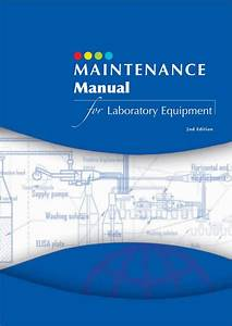 Ebook  Maintenance Manual For Laboratory Equipment 2nd