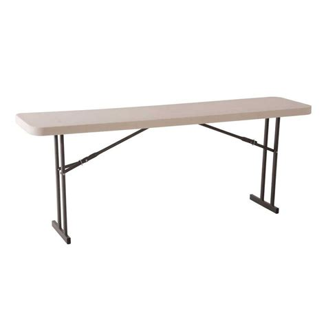 lifetime white seminar and conference folding table 80177