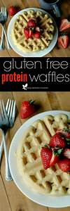 Gluten Free Protein Waffles :: Gluten, Soy, and Refined ...