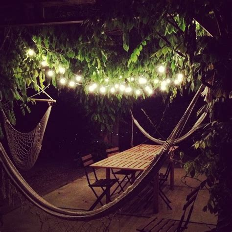 brigtening your home with ikea string lights outdoor