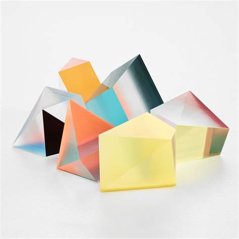 Abstract Shapes Sculpture by Phillip Low Prism Sculptures Beautiful From All Angles