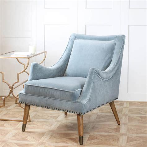 Blue Armchair by Blue Velvet Armchair By Marquis Dawe