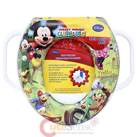 Mickey Mouse Potty Seat by Mickey Mouse And Friendstoilet Seat Cover With Handle