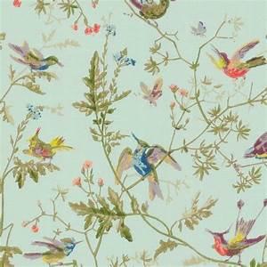 papier peint humming birds chambre p39tite nenette With affiche chambre bébé avec site de vente de fleurs en ligne