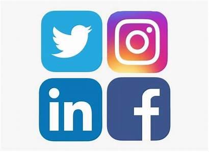 Social Logos Icons Transparent Website Connect Websites