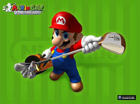 tour pc bureau fond ecran wallpaper mario golf toadstool tour