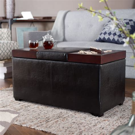 Leather Coffee Table With Storage by 39 Modern Coffee Tables With Storage Table Decorating Ideas