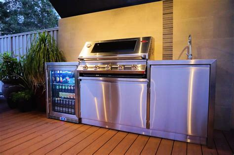 outdoor kitchen cabinets stainless steel outdoor kitchens stainless steel bbqs alfresco areas 7233