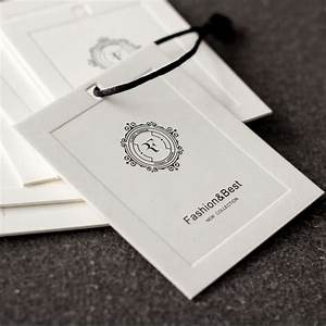 aliexpresscom buy cloth printed hang tag with metal With cloth tag printing
