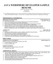 resume title for java developer fresher resume sle sle resume for java developer fresher what do java developers do java